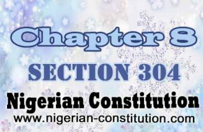 Chapter 8 Section 304